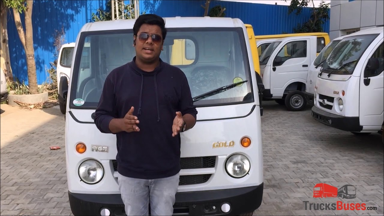 Tata Ace Gold - Chota Hathi Mini Truck Review | TrucksBuses com