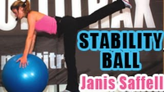 JANIS SAFFELL STABILITY BALL TRAINING trailer