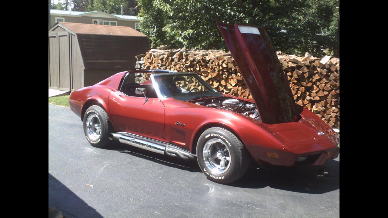 1975 Corvette T-Top For Sale in Pennsylvania | 1975 Dark Green ...