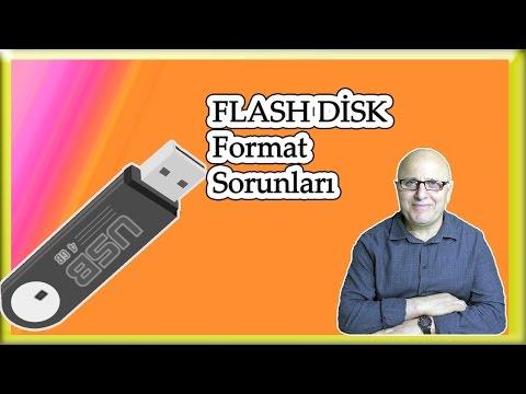 Flash Bellek Biçimlendirme Sorunu[Hafıza Kartlarında  Format Sorunu]