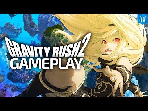 GRAVIDADE ZERO NO PS4! - GRAVITY RUSH 2 GAMEPLAY