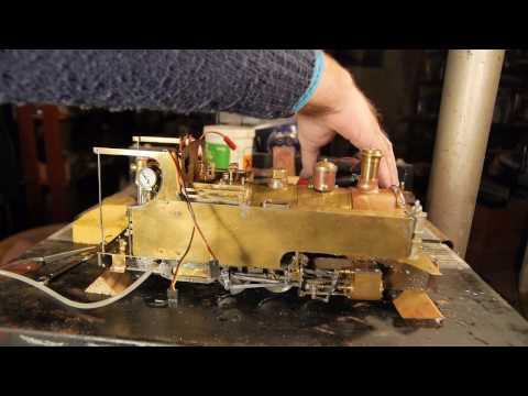 'Russell' Live Steam Model Locomotive Part 20