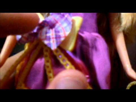 Review Barbie Doll Escola de Princesas Delancy Princesa Travel Video