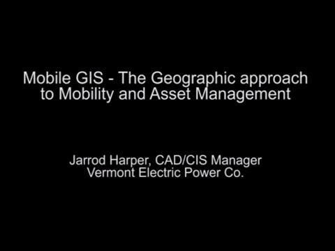 EnerGIS Conference 2013 - Mobile GIS - Jarrod Harper