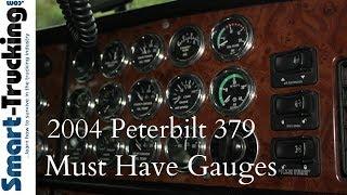 2004 Peterbilt 379 Gauges Tour