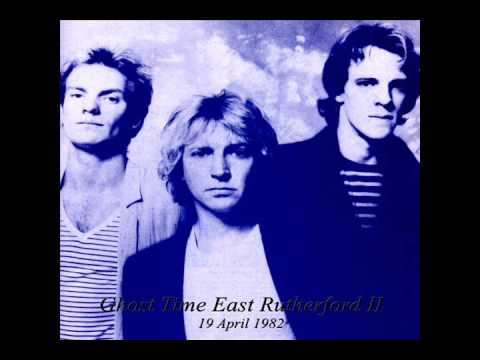 "The Police- East Rutherford, NJ 04-19-1982 ""Meadowlands Arena"" (1/2 show)"