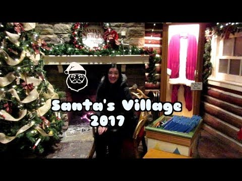 Santa's Village At Night Vlog 2017 - Bracebridge, Ontario