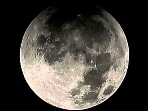 Tetrad Blood Moon Eclipse Snapshot Time Lapse