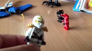 Обзор Lego Ninjago Самоделка истребитель Джея и робот ПэнкПаеф