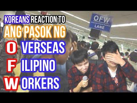 [Reaction #57] Korean react to Ang Pasok Ng OFW   Overseas Filipino Workers