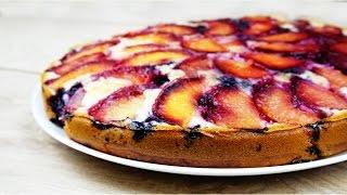 Очень вкусный СЛИВОВЫЙ ПИРОГ ПЕРЕВЕРТЫШ | Plum Cake