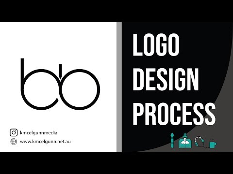 Logo Design Process #2 - BB Logo Design Tutorial - Adobe Illustrator thumbnail