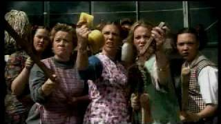 cleaning ladies in fight (glasgow violence) - s1.play.com commercial