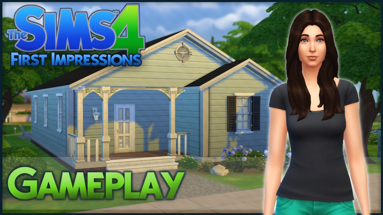 Curtisparadislive sims 4 building starter home part 1 youtube - Curtisparadislive Sims 4 Building Starter Home Part 1 Youtube The Sims 4 Gameplay First Impressions