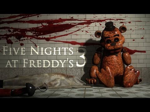 FNAF 3 FAN GAME ENDING   Night 5 COMPLETE, Golden Freddy & Balloon Boy 2015