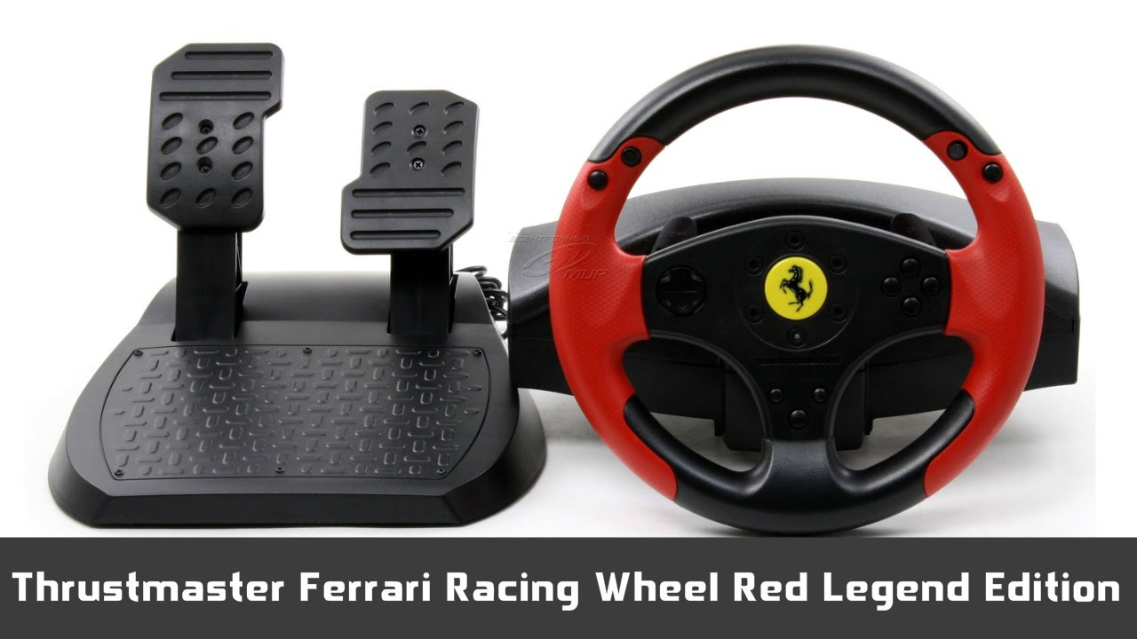 m j pohled na thrustmaster ferrari red legend edition. Black Bedroom Furniture Sets. Home Design Ideas
