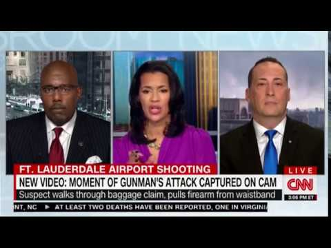 CNN Interview: Paul J. Schmick Analyzes the Fort Lauderdale Airport Shooting on January 8, 2017