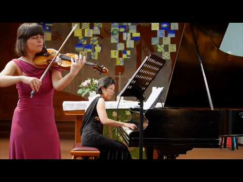 Sebastian Sprenger, Joanna Kamenarska - Violin, Fumiko Shiraga - Piano