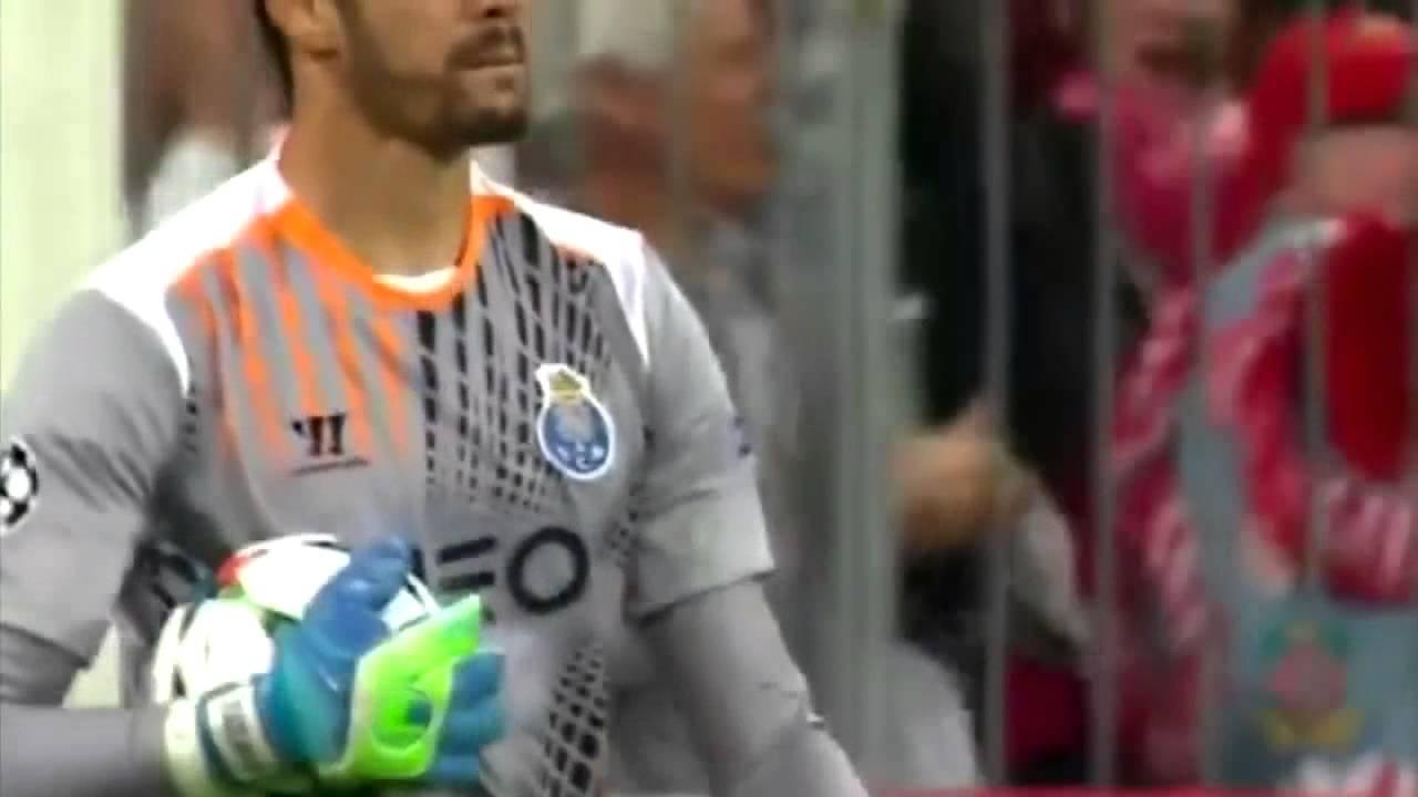 Футбол лига чемпионов видео бавария порту