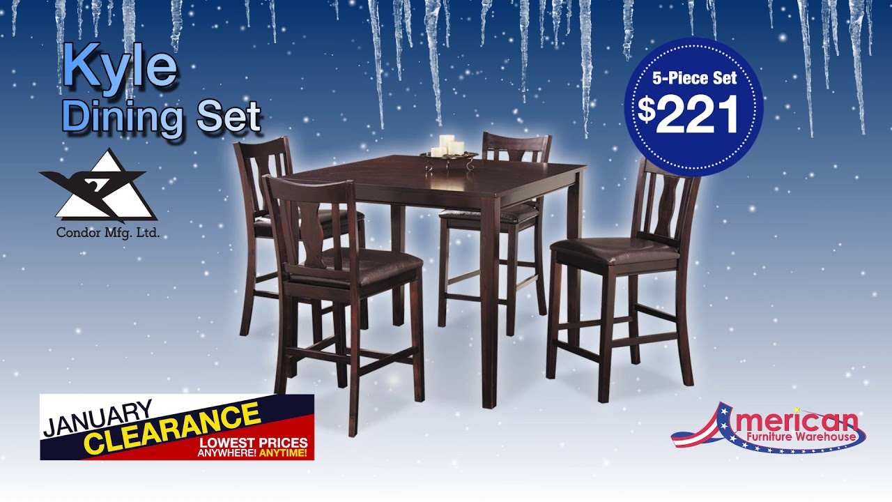 January Clearance Dining 15 Youtube