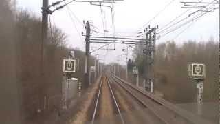 Voyage en cabine à bord du TER Amiens - Lille