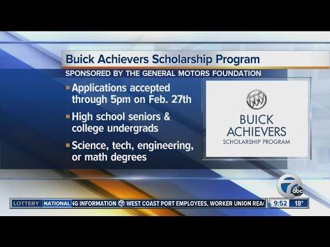 Buick Achievers Scholarship >> Buick Achievers Scholarship Program Youtube