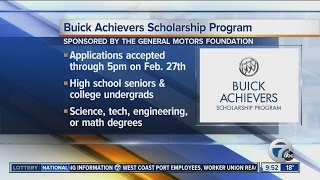 scholarshipo Buick Achievers Scholarship