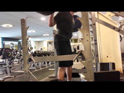 Simon Pause Squats 140kg X 4