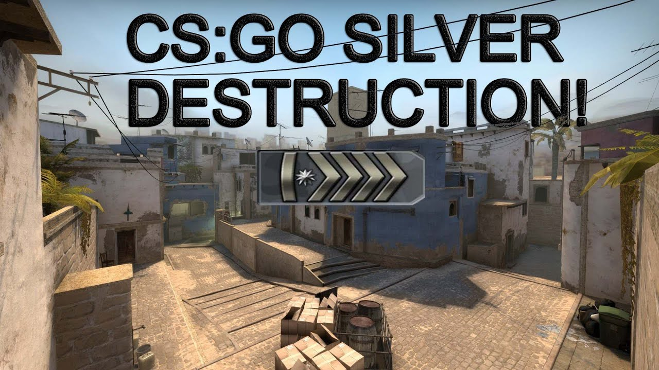 how to get silver in cs go