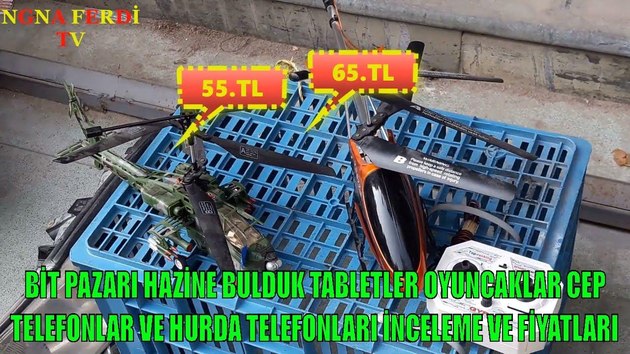 BİT PAZARI HAZİNE BULDUK TABLETLER OYUNCAKLAR CEP TELEFONU ...