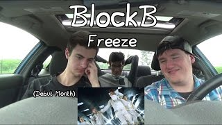 "Block B - Freeze MV Reaction (Debut Month #3) ""Oh My God"""