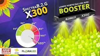 SpectraB.2.G X300 - Présentation Barre LED horticole