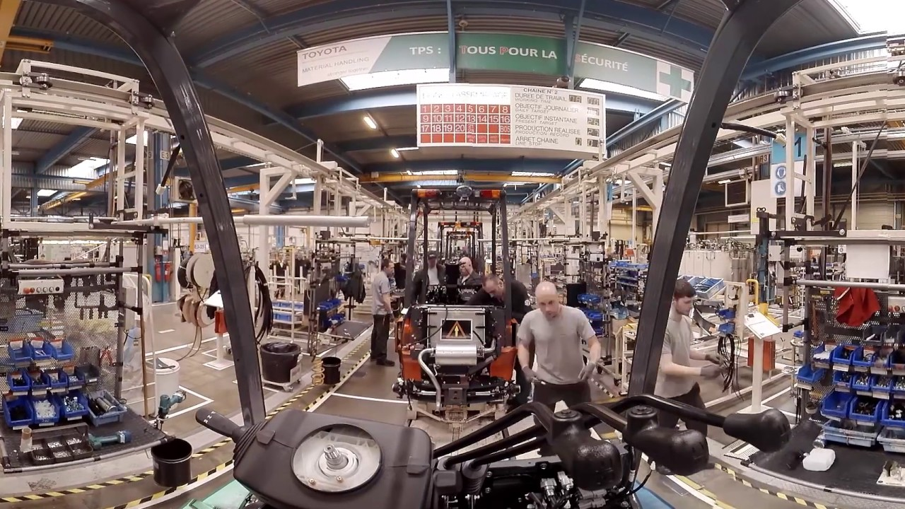 Toyota VR 360° Factory Tour injected - YouTube