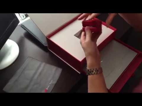 James Allen wedding ring unboxing