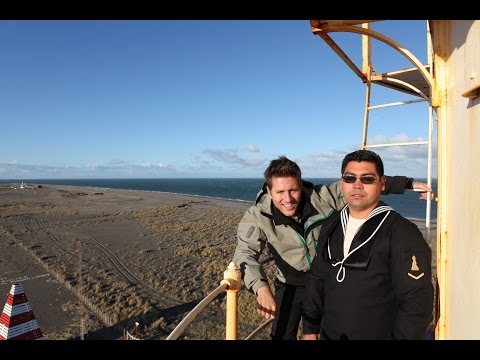 Hanging With The Chilean Navy at Punta Dúngeness Lighthouse