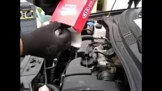 Mécanique auto - Remplacement du filtre à air moteur