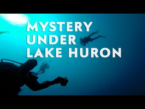 Archeologists have discovered a mystery at the bottom of Lake Huron