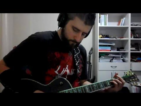 Megadeth - Bullet To The Brain (guitar cover)