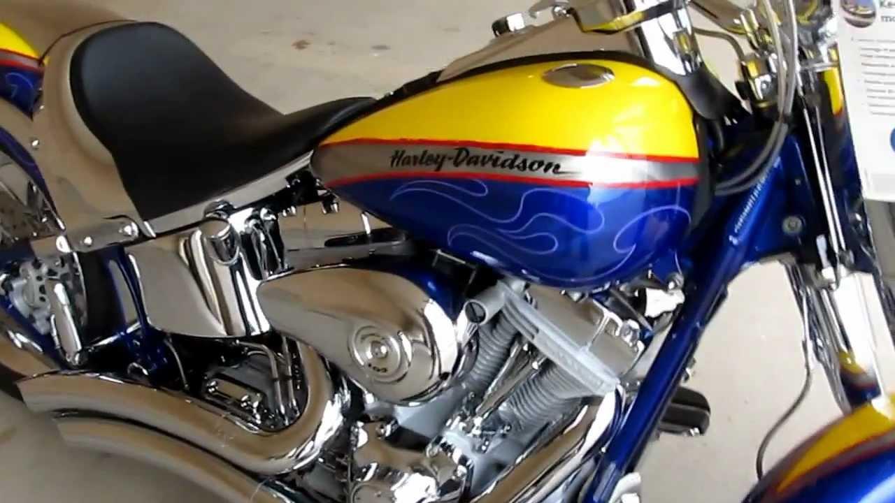 2006 Harley Davidson Cvo Screamin Eagle Fat Boy Hear It Run Vance Hines Exhaust For Sale