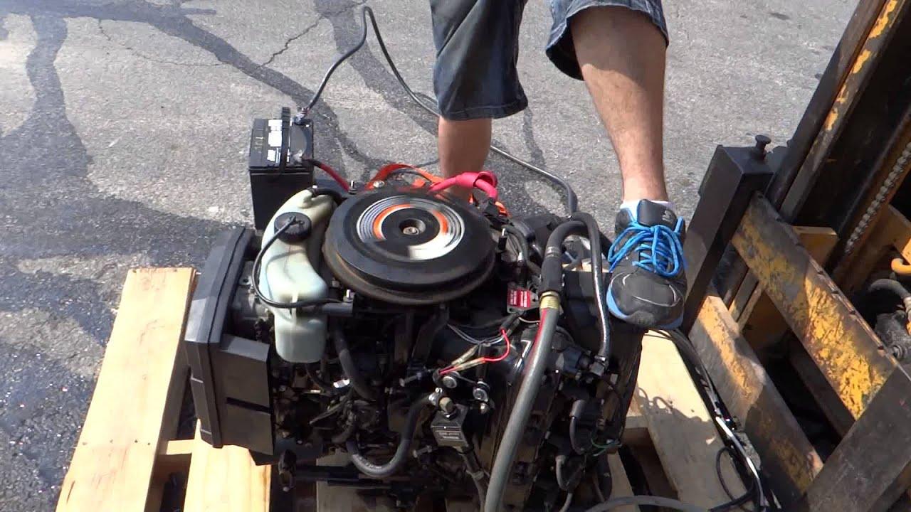 Mercury Sport Jet 175hp Complete Engine  YouTube