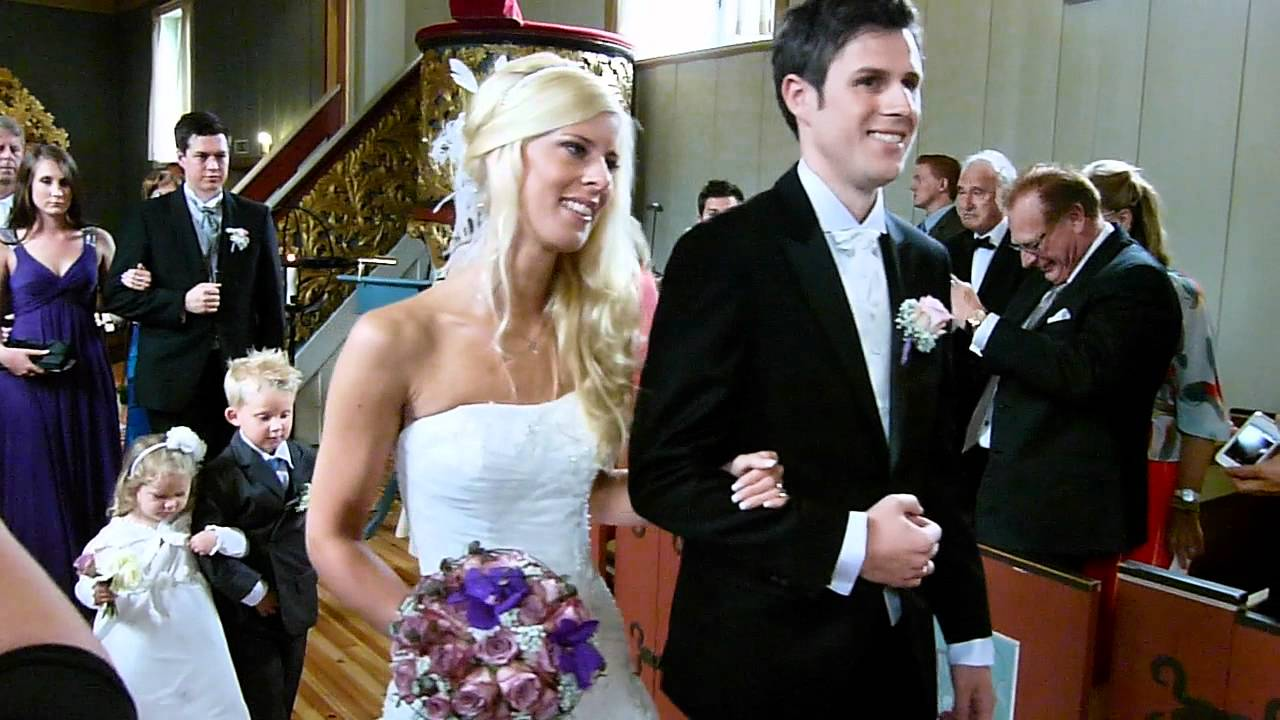 bryllupsmelodi i kirken