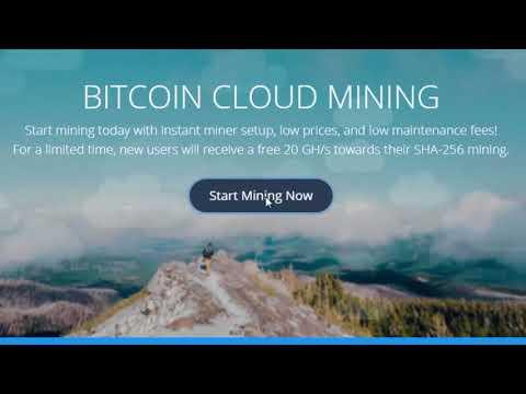 HashZone  - New Cloud Mining Bonus 20 GH⁄S