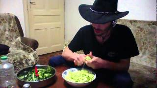 [COOKING] Cucumber Salad Creation with Umren Cooking Show. Unique Recipes for Gamers.