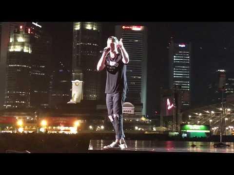 Rumour Has It (Adele cover) - OneRepublic @ F1 Singapore 2017