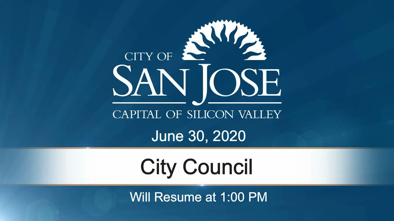 JUN 30, 2020 | City Council, Afternoon Session