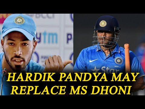 ICC Champions trophy : Hardik Pandya may replace MS Dhoni as a match finisher   Oneindia News