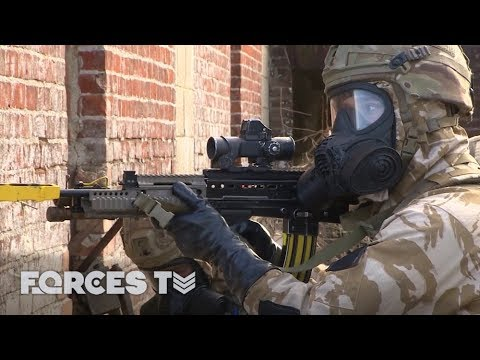 How The Royal Marines Deal With A Chemical Attack | Forces T
