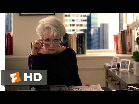 The Devil Wears Prada (2/5) Movie CLIP - Andy's Interview (2006) HD