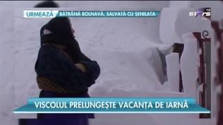 Viscolul prelungește vacanța de iarnă. Luni și marți școlile și grădinițele rămân închis