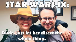 STAR WARS 9 Director J.J. Abrams blocks historic diversity milestone by not stepping aside.